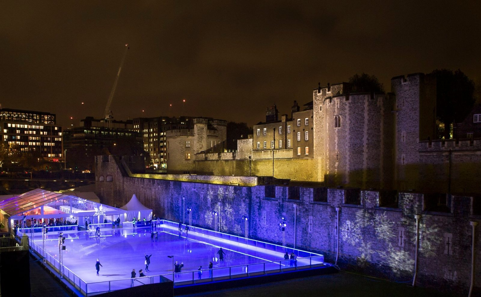 best ice skating in london tower of london