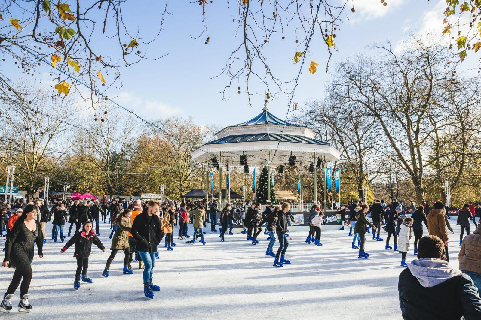 best ice skating in london winter wonderland
