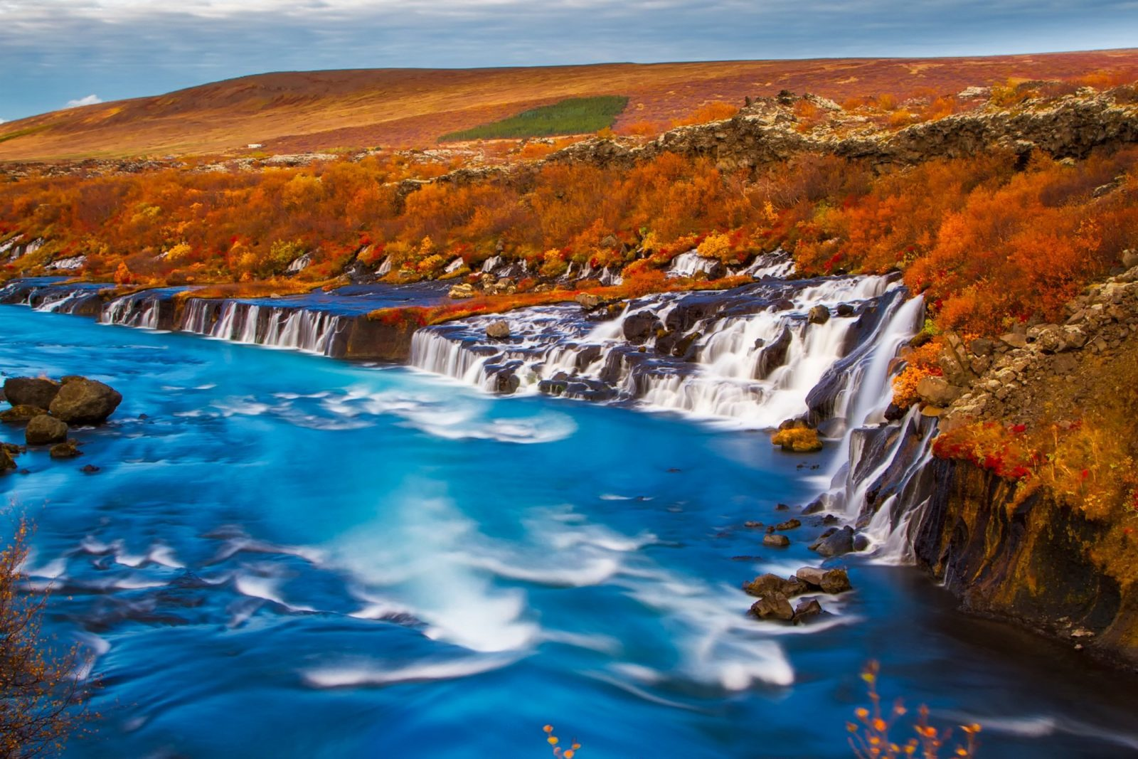 where to see the arrival of fall Iceland