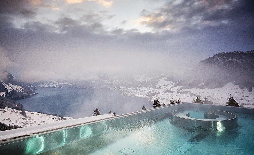 best pool in the world villa honegg