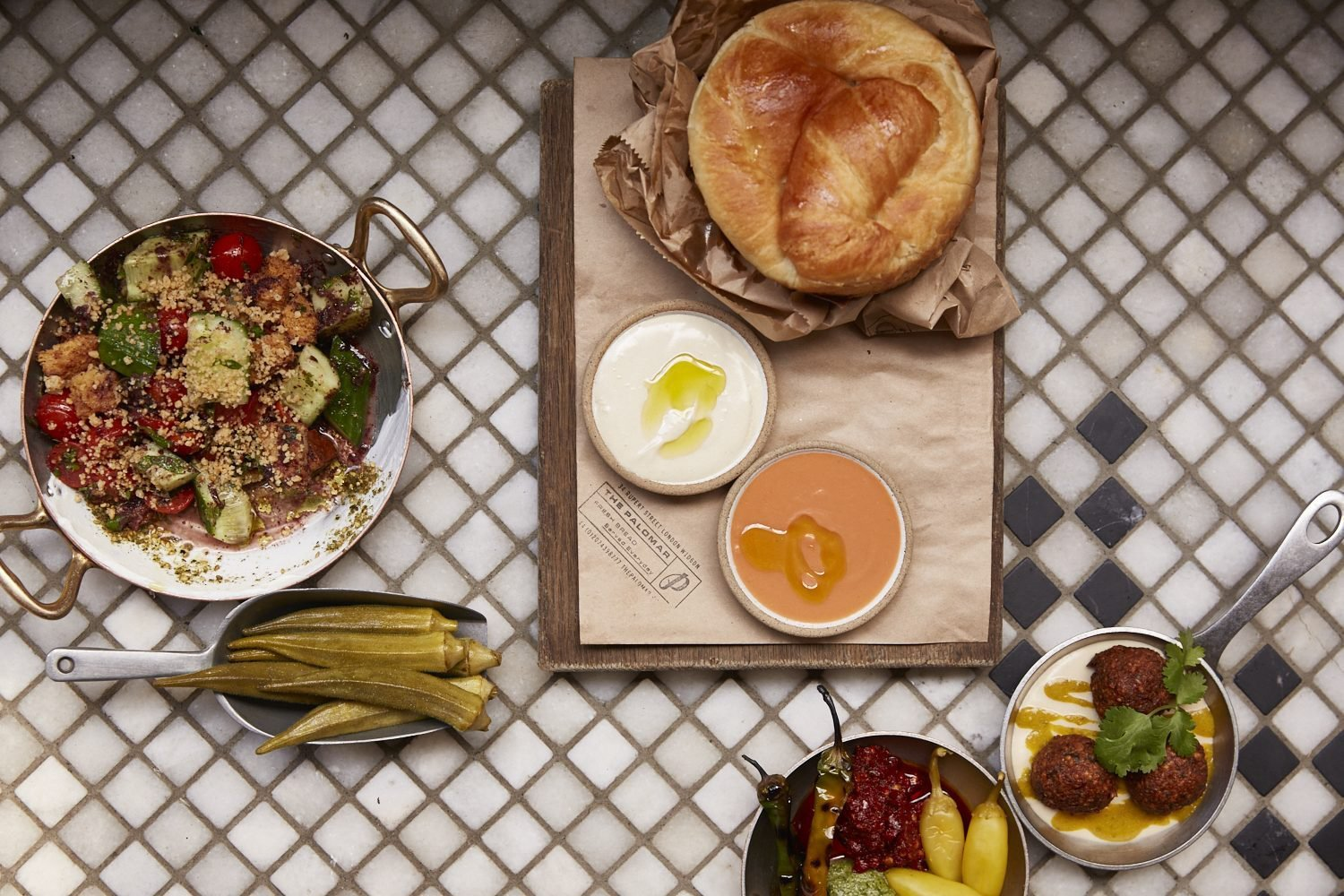 restaurants you need to try in london Israeli cuisine