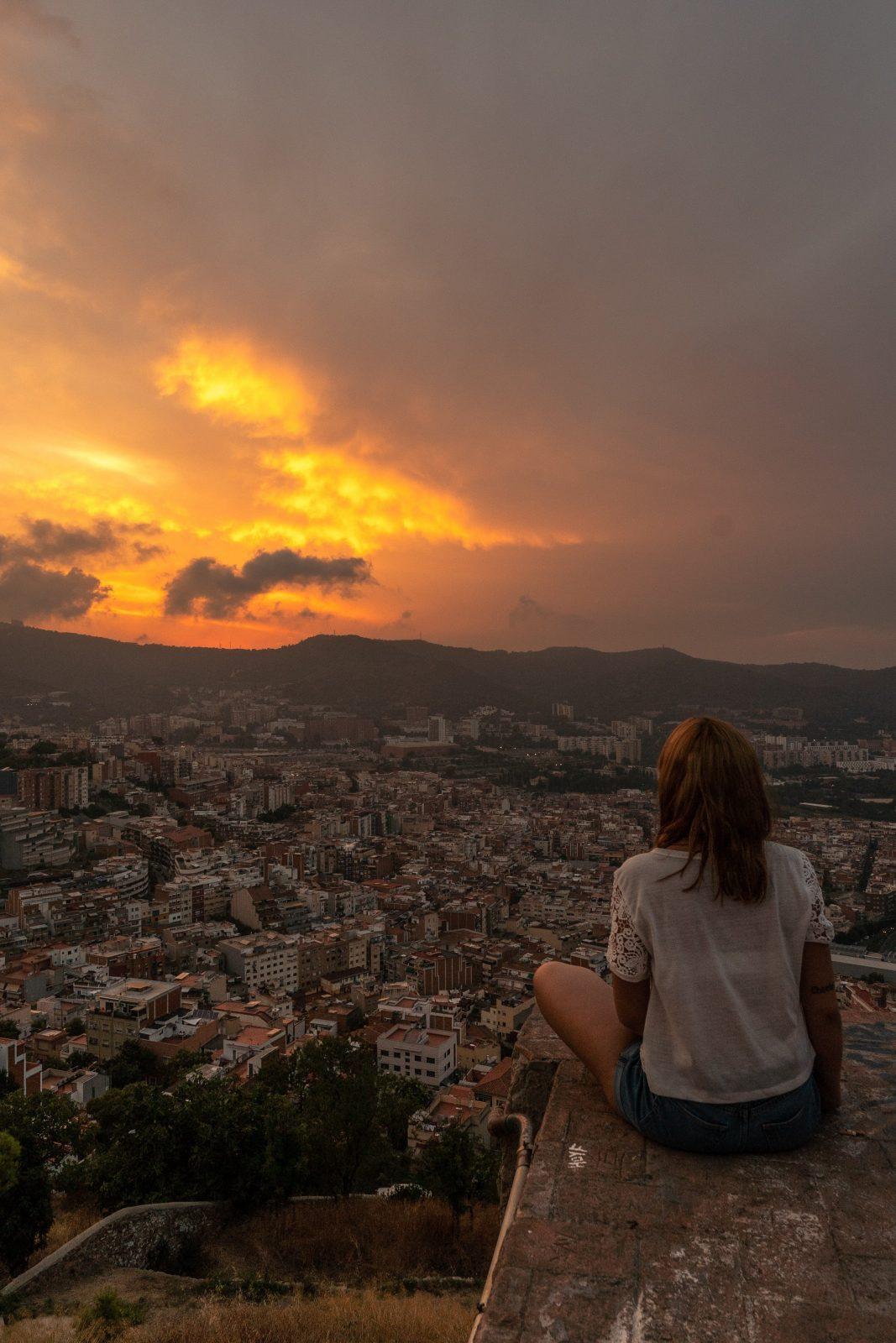 best view of barcelona for sunset carmel bunkers