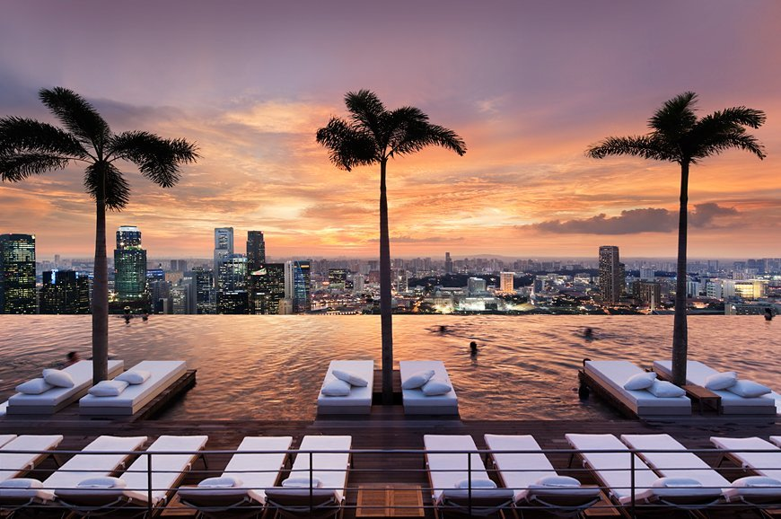 best pool in the world marina bay Singapore