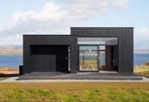 black h house isle of skye
