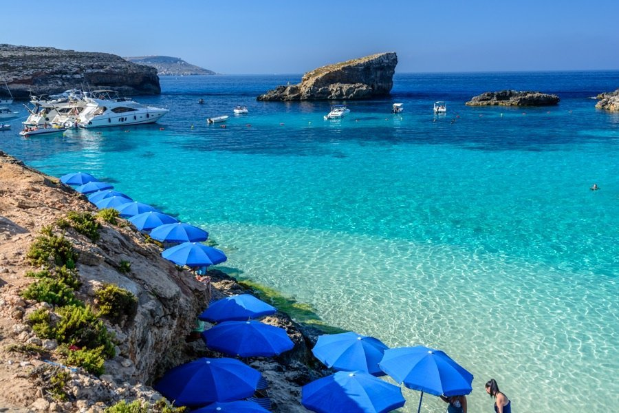 best beaches in malta and gozo blue lagoon