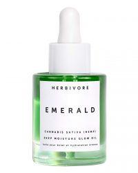 cba skin care products Herbivore Emerald Deep Moisture Glow Oil