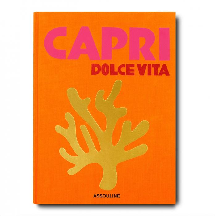 coffe table book Capri Dolce Vita Cesare Cunaccia
