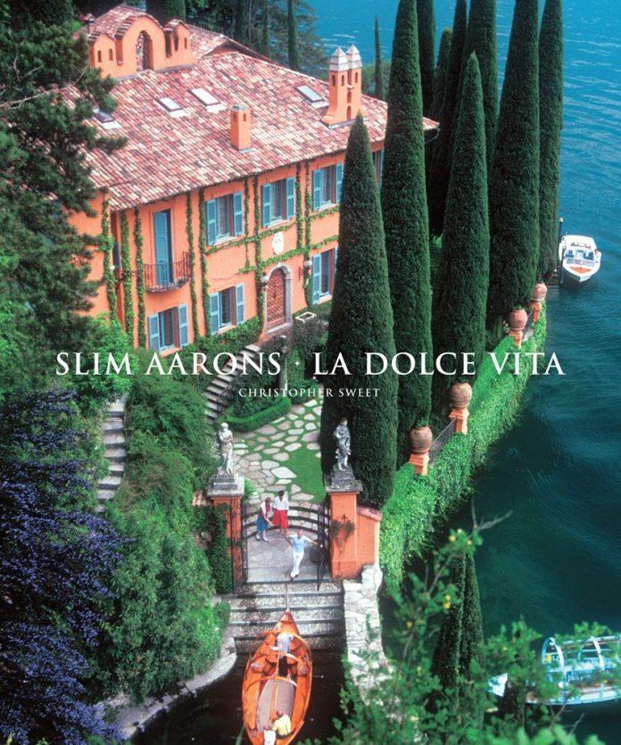 coffe table book slim aarons la dolce vita book