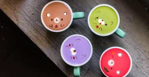 LATTE ART THAT IS TOO CUTE TO DRINK