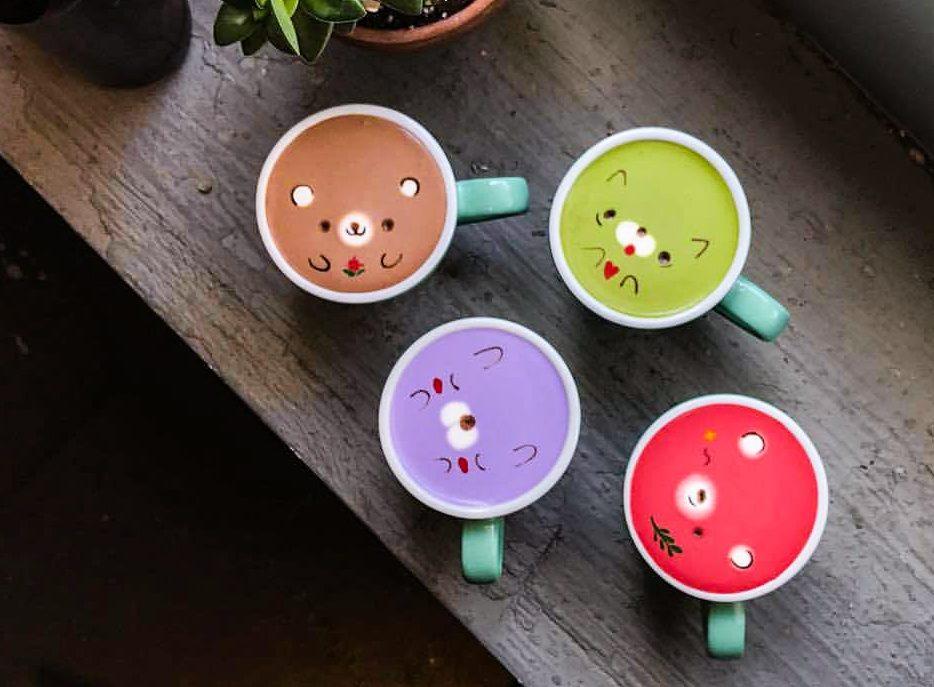 coffee art too cute to drink