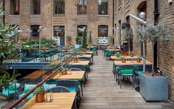 devonshire terrace al fresco dining london