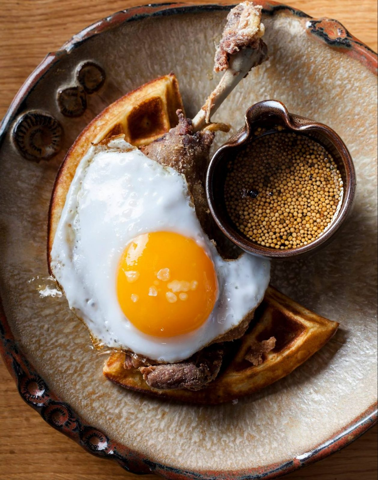 duck and waffle brunch in london