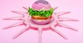 FLOWER BURGER: RAINBOW BURGER COMES TO LONDON