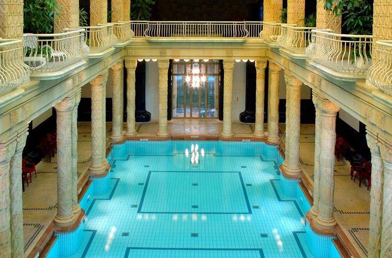 Budapest things to do gellert bath thermal baths
