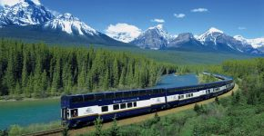EXPLORE THE CANADIAN ROCKIES IN A GLASS TRAIN