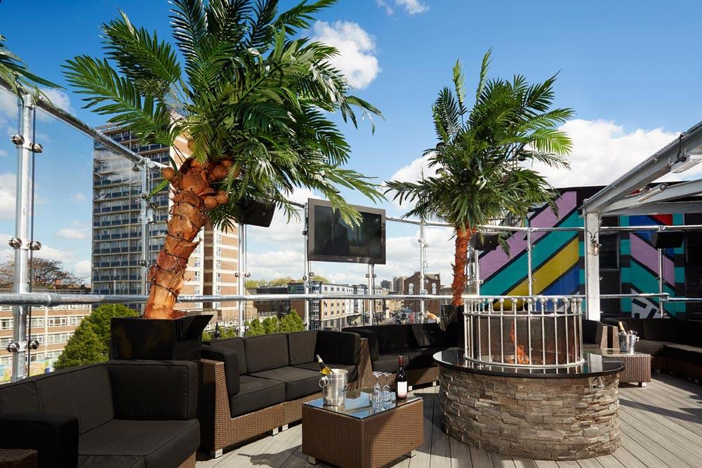 rooftop bars in London Golden Bee Shoreditch