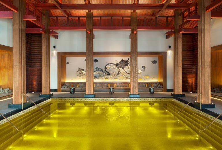 golden pool most spectacular pool st regis lhasa