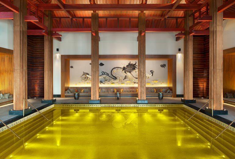 golden pool most spectacular pool st regis lhasa