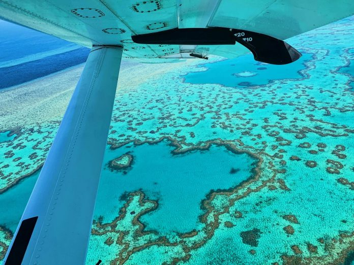 great barrier reef best helicopter experience