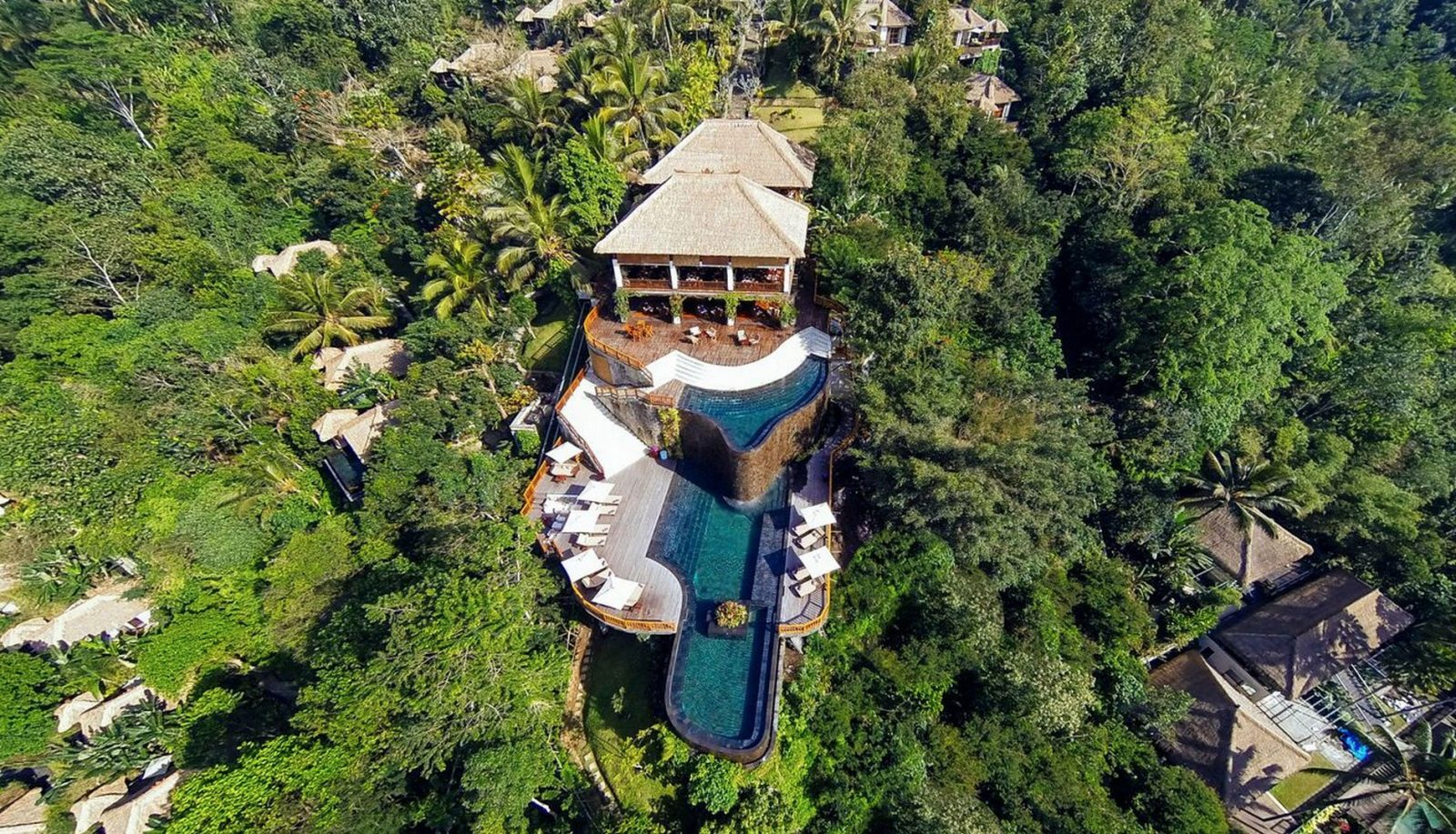 hanging gardens bali spectacular pool