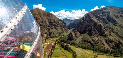 HANGING HOTEL : SLEEP ALONGSIDE A CLIFF IN PERU