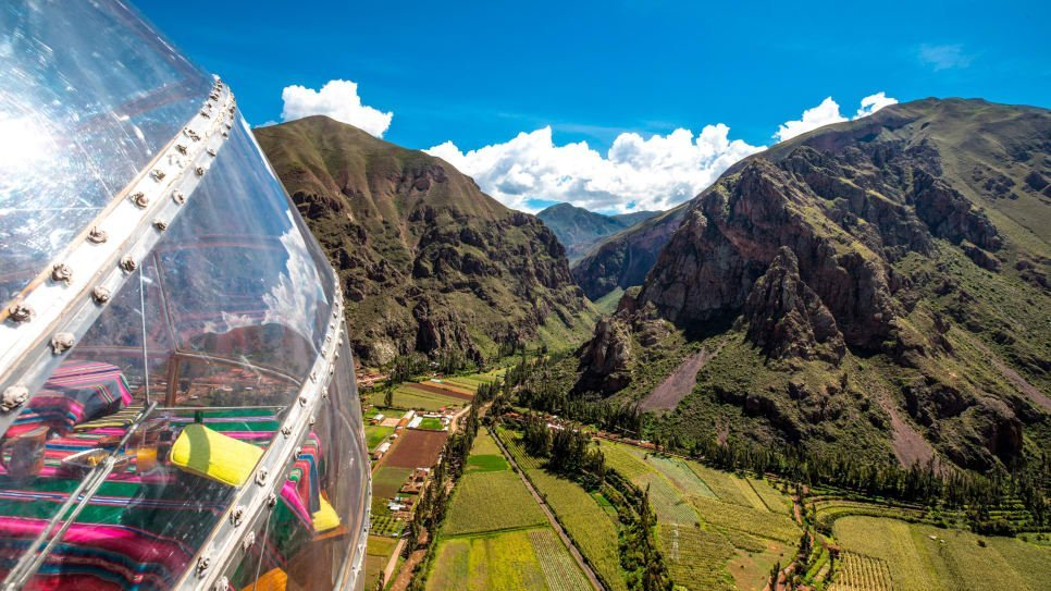 hanging hotel in peru unique experience in peru