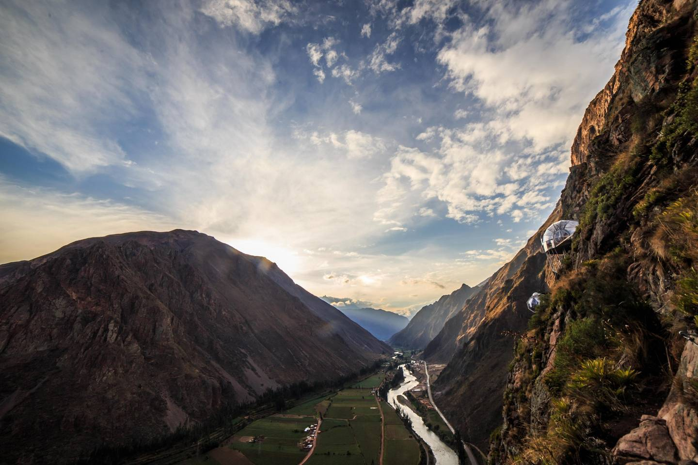 hanging hotel sky lodge suites in peru luxsphere travel