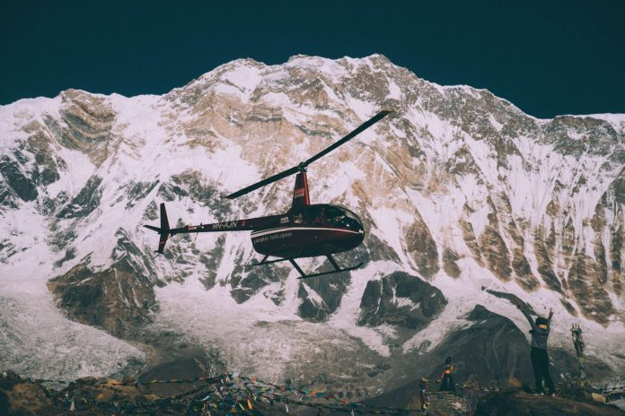 helicopter experience everest nepal