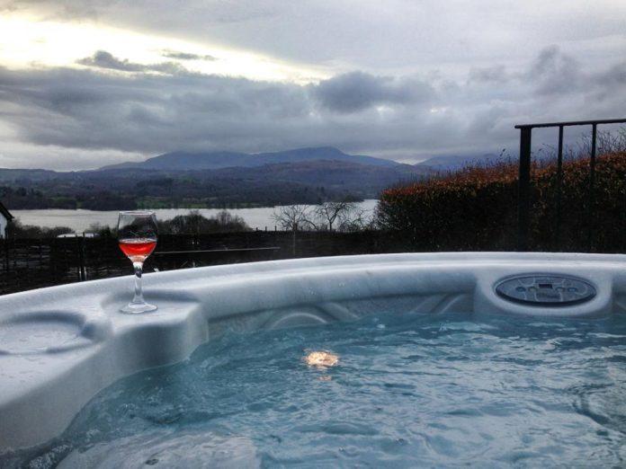 holbeck ghyll hot tub