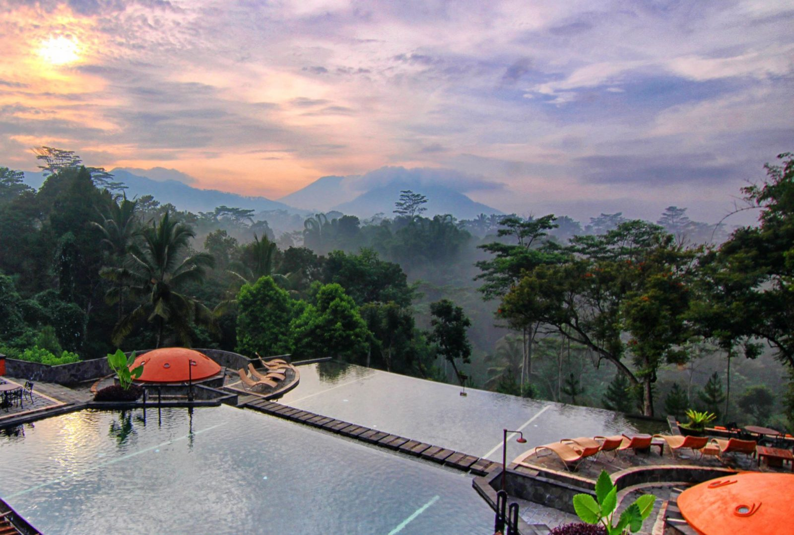 hotels in a coffee plantation MesaStila Resort Java