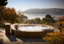 hotels in lake district the Samling hot tub