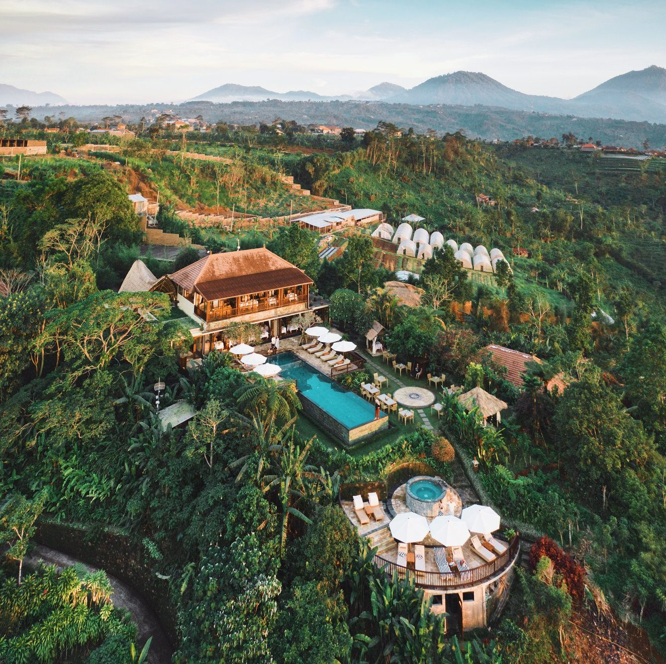 hotels on a coffee plantation Munduk Moding Plantation