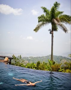 hotels on a coffee plantation in jamaica infinity pool