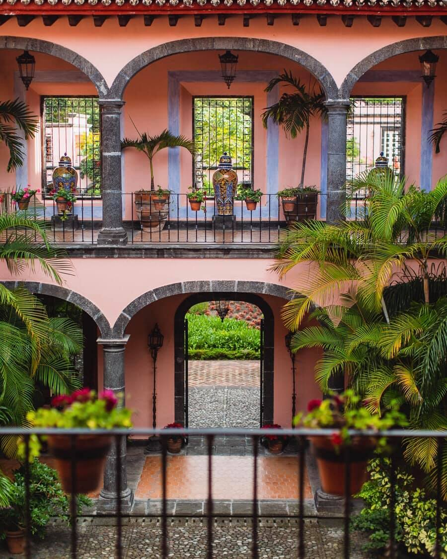 hotels on a coffee plantation mexico
