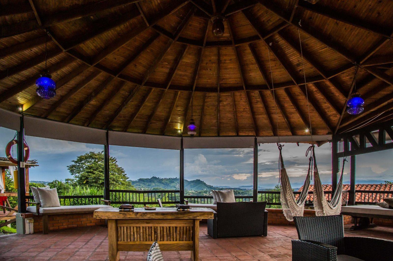 hotels on coffee farm Hotel La Colina colombia