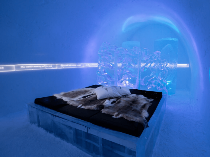 ice hotel sweden unique hotels