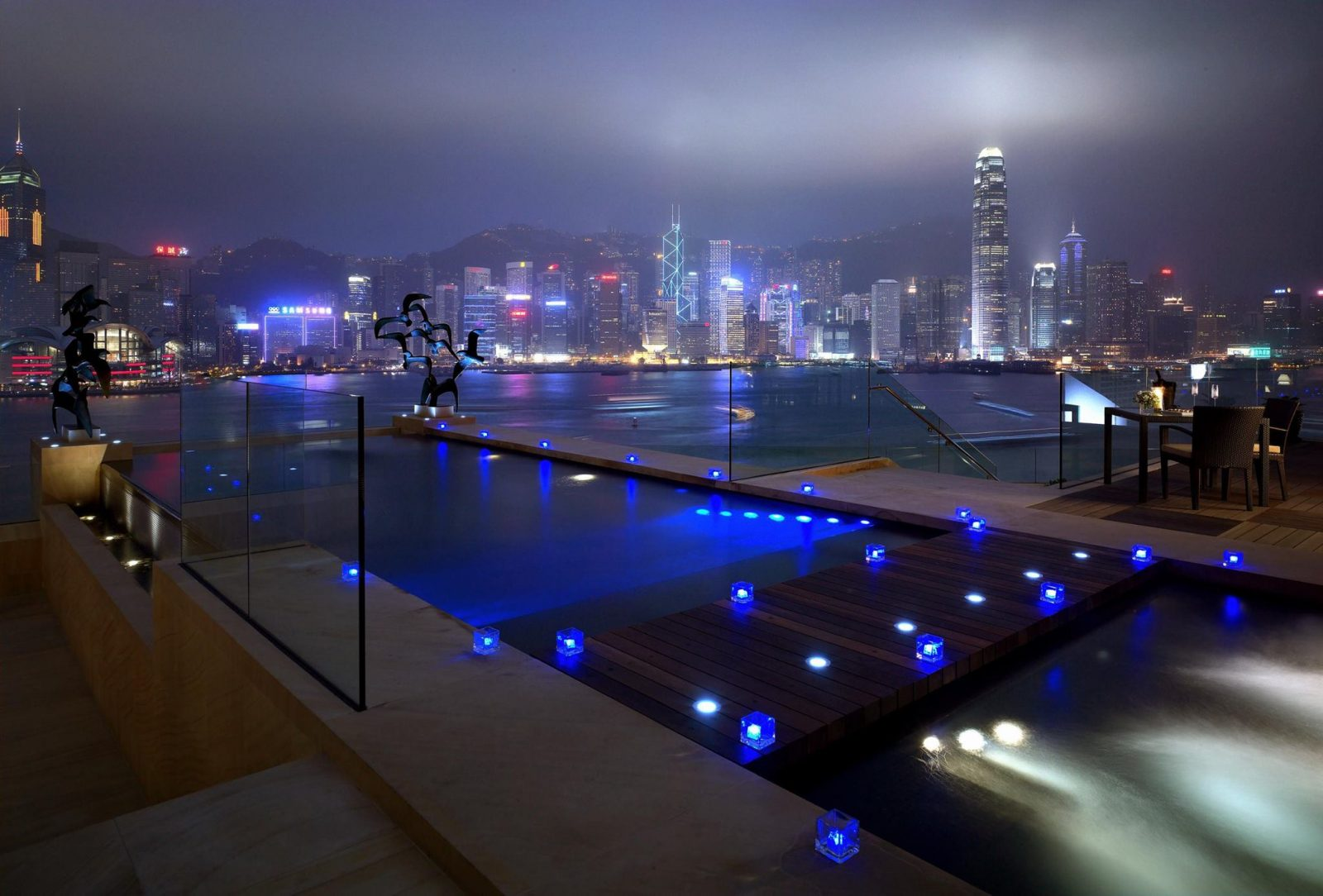 intercontinental hong kong pool coolest