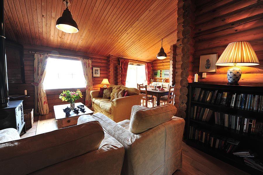 log house holidays near london