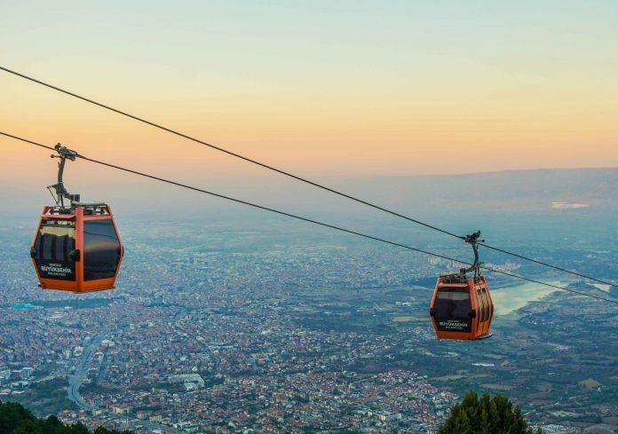 Places to see in Pamukkale Cable Car denizli teleferik