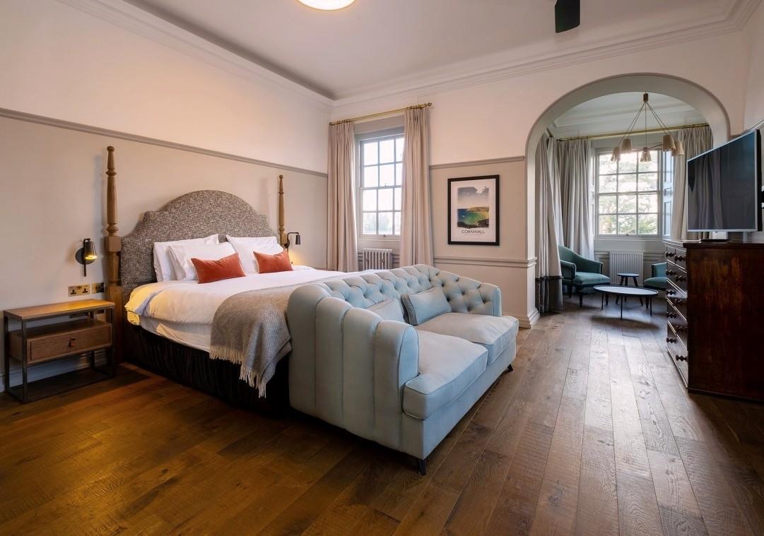 luxury hotels in cornwall Fowey Hall Hotel