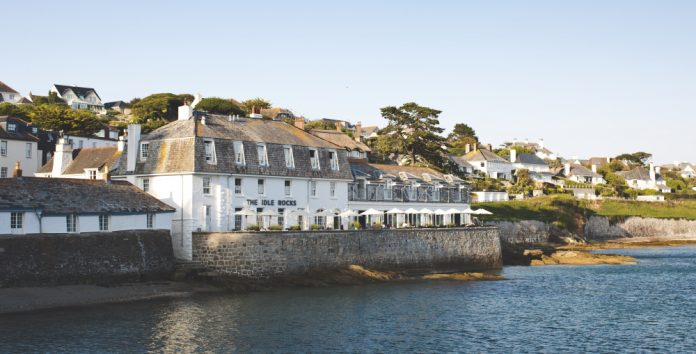 luxury hotels in cornwall The Idle Rocks 2