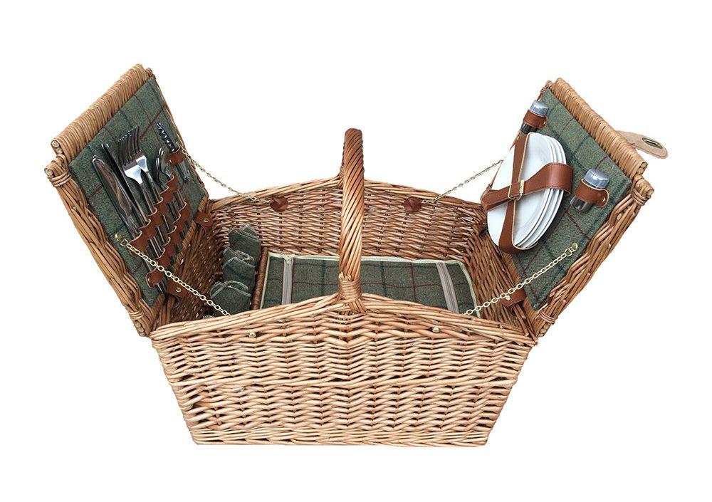 luxury picnic basket amara retreat