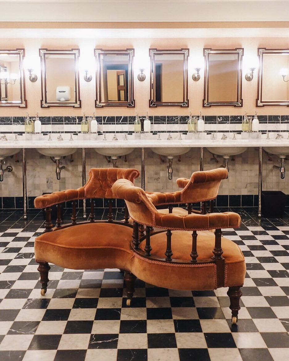 most instagrammable bathrooms in london the ned