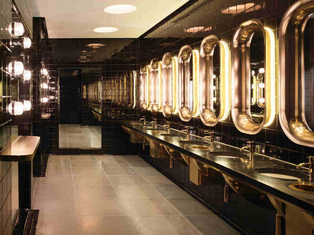 most instagrammable bathrooms in london Mondrian Hotel