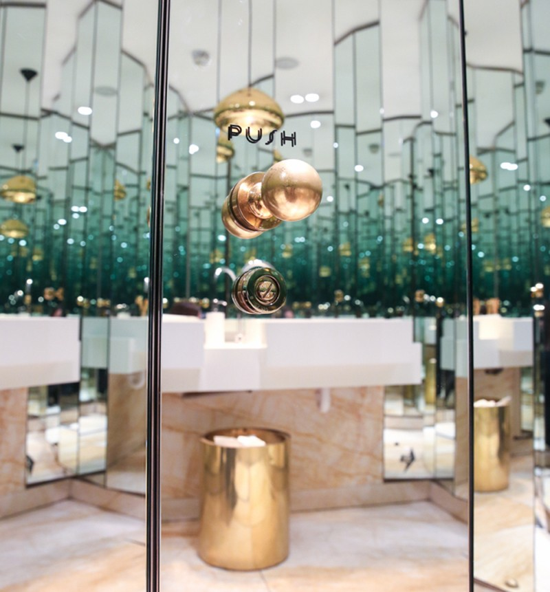 most instagrammable bathrooms in london Nopi