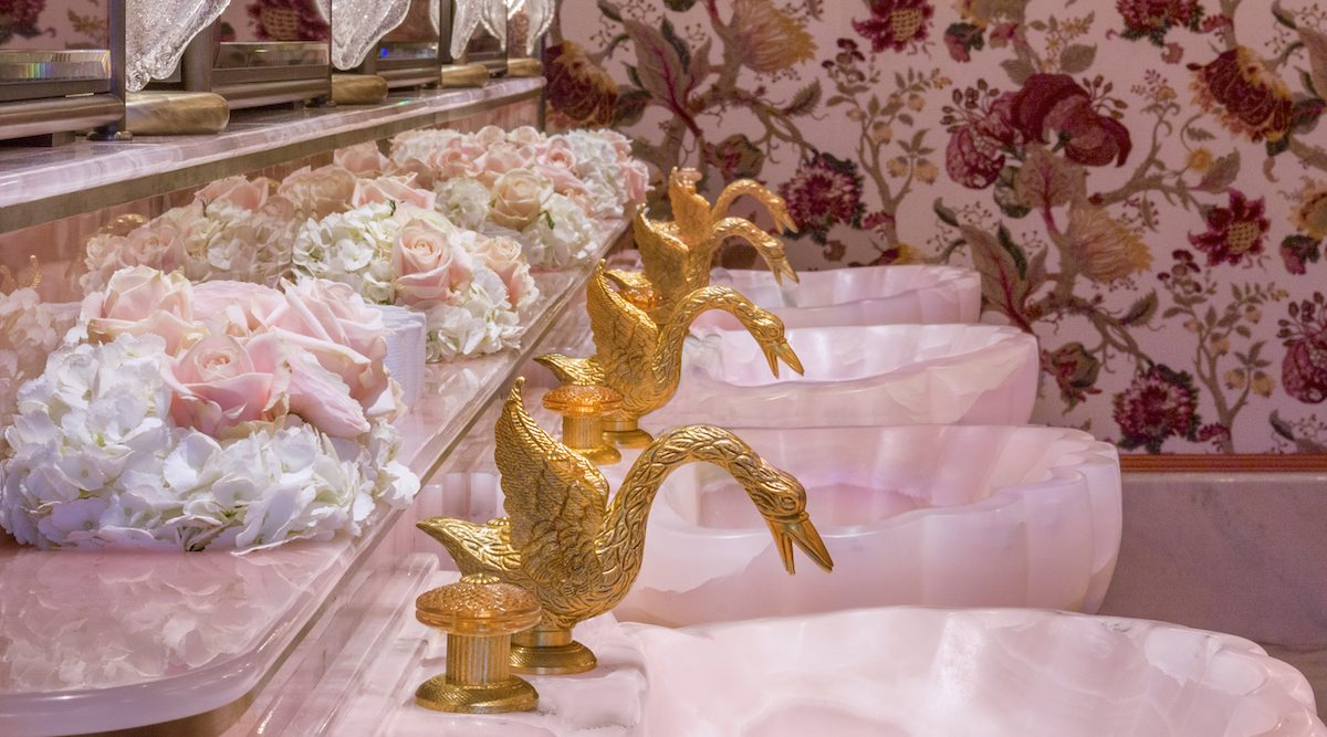 most instagrammable bathrooms in london annabels mayfair