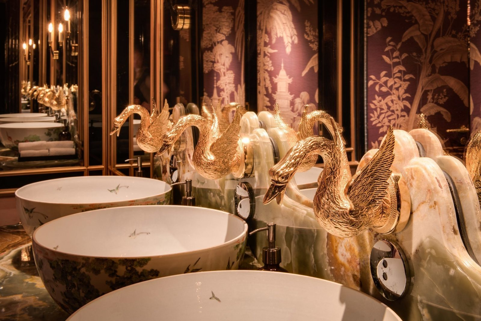 most instagrammable bathrooms in london park chinois