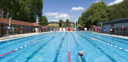 OUTDOOR POOLS IN LONDON