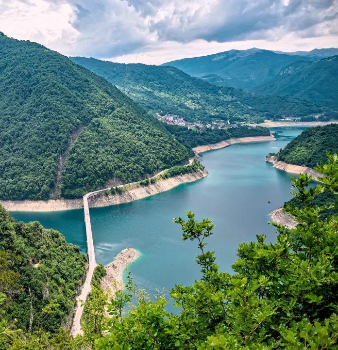 piva lake montenegro destinations