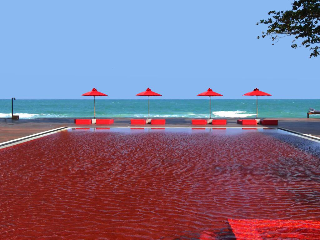 red pool koh samui the library Thailand